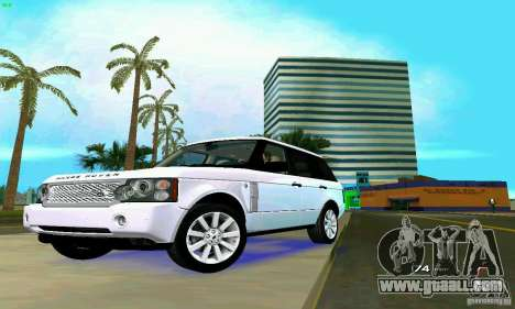Land Rover Range Rover Supercharged 2008 for GTA Vice City