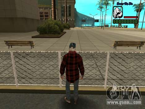 Skin the bum jacket for GTA San Andreas