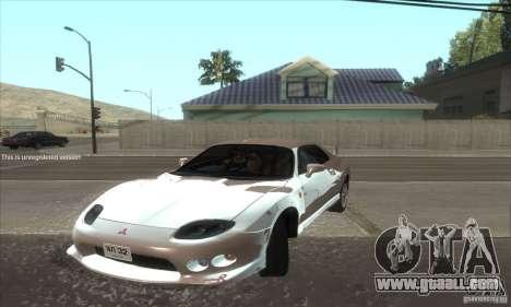 Mitsubishi FTO GP Version R 1998 for GTA San Andreas