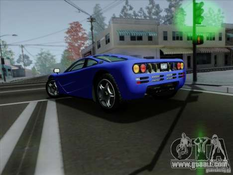 McLaren F1 1994 v1.0.0 for GTA San Andreas right view