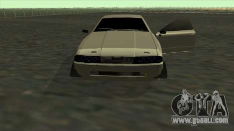 Elegy Roportuance for GTA San Andreas upper view
