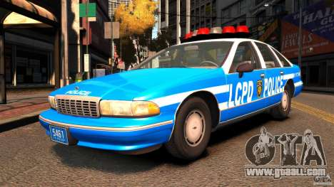 Chevrolet Caprice 1993 LCPD for GTA 4