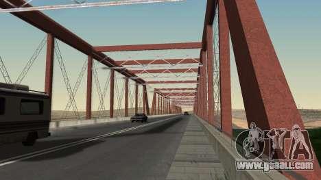 The new bridge of LS-LV for GTA San Andreas forth screenshot