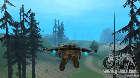 JetWings Black Ops 2 for GTA San Andreas sixth screenshot