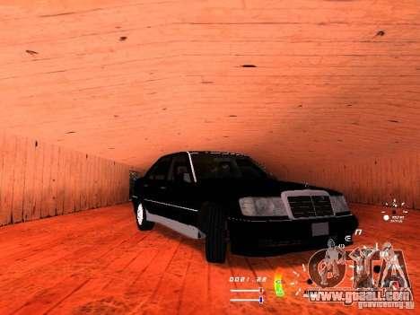 Mercedes-Benz 230E for GTA San Andreas left view