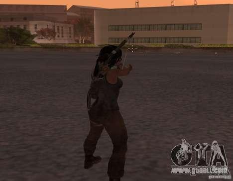 Skin Tomb Raider 2013 for GTA San Andreas second screenshot