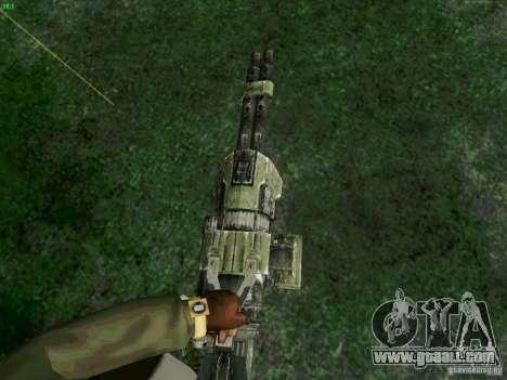 Minigun from Duke Nukem Forever for GTA San Andreas second screenshot
