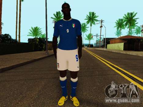 Mario Balotelli v4 for GTA San Andreas
