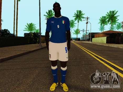 Mario Balotelli v4 for GTA San Andreas