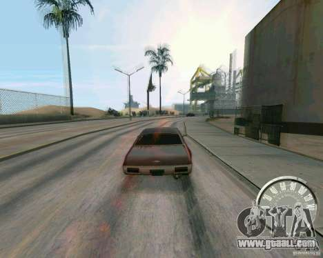 Classic Mustang speedometer for GTA San Andreas