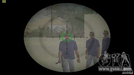 Optical sight of GTA 5 for GTA Vice City second screenshot