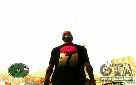 Skull Mask for GTA San Andreas third screenshot