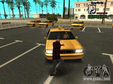 Skin the bum jacket for GTA San Andreas second screenshot