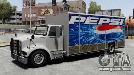 The new advertisement for Benson truck for GTA 4 third screenshot