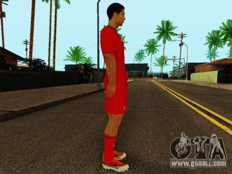 Cristiano Ronaldo v4 for GTA San Andreas second screenshot