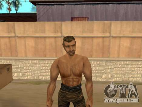 Pak skins from Gothic 1 for GTA San Andreas fifth screenshot