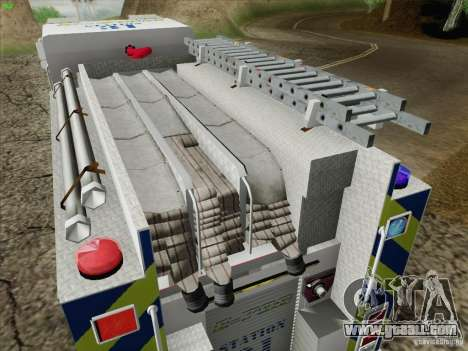 Pierce Pumpers. B.C.F.D. FIRE-EMS for GTA San Andreas upper view