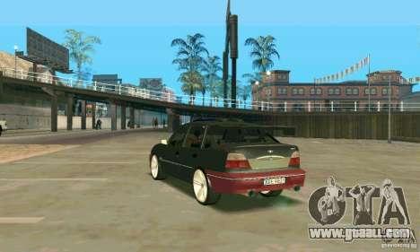 Daewoo Nexia Tuning for GTA San Andreas back left view