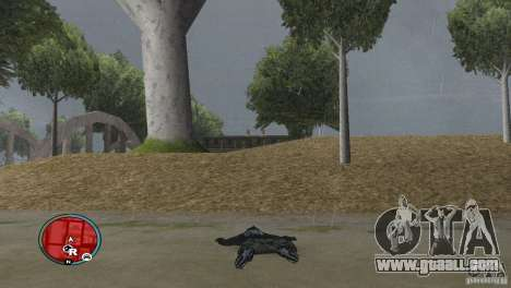 GTAIV HUD for a wide screen (16: 9) v2 for GTA San Andreas third screenshot