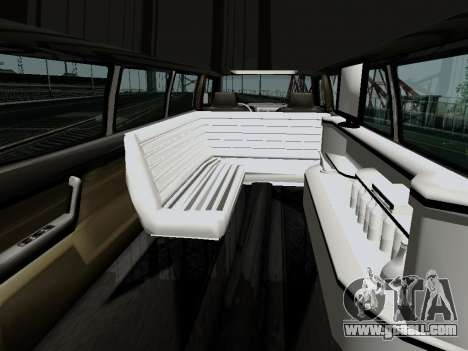 Hummer H3 Limousine for GTA San Andreas back left view