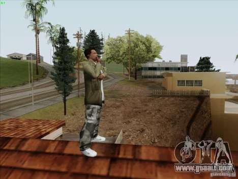 Gentleman Dance Animation for GTA San Andreas third screenshot