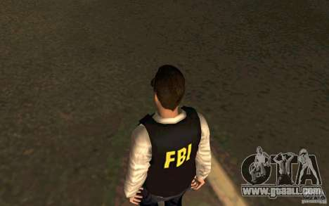 FBI HD for GTA San Andreas third screenshot