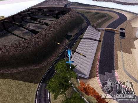 Laguna Seca Raceway for GTA San Andreas forth screenshot