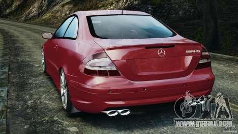 Mercedes-Benz CLK 63 AMG for GTA 4 back left view