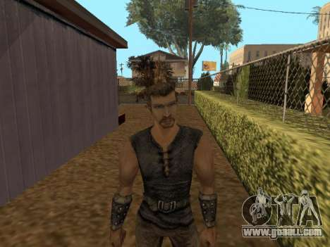 Pak skins from Gothic 1 for GTA San Andreas
