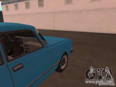 Moskvich 2140 SL for GTA San Andreas back view
