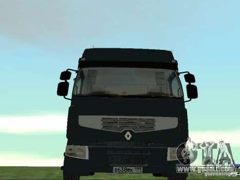 Renault Premium for GTA San Andreas side view