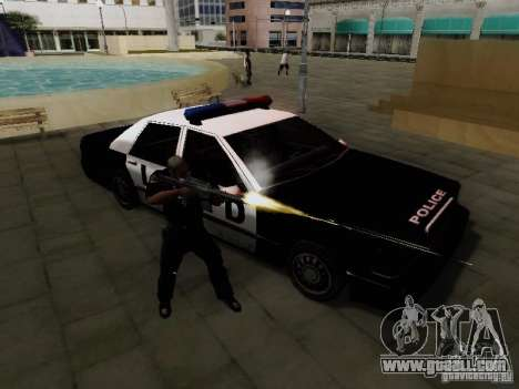 Elegant Police LS for GTA San Andreas right view