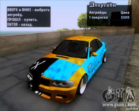 BMW 3-er E46 Dope for GTA San Andreas side view