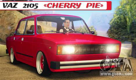 VAZ 2105 Cherry Pie for GTA San Andreas