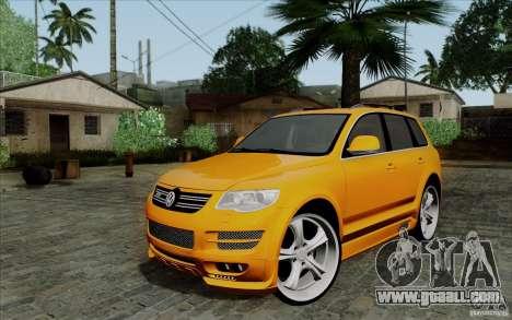 Volkswagen Touareg R50 Light for GTA San Andreas