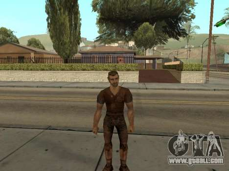 Pak skins from Gothic 1 for GTA San Andreas second screenshot