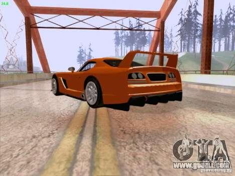 Dodge Viper GTS-R Concept for GTA San Andreas right view
