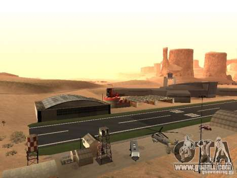 The New Airport for GTA San Andreas second screenshot