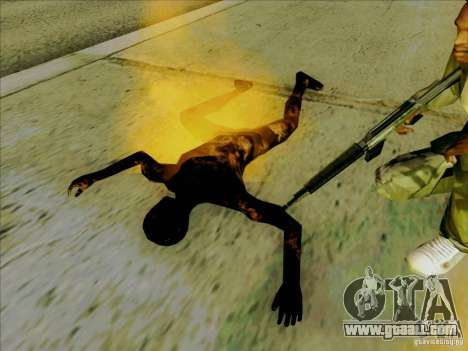 Charred bodies for GTA San Andreas