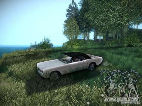 Ford Mustang Convertible 1964 for GTA San Andreas right view