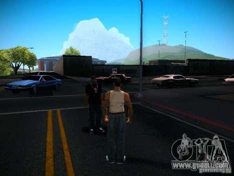 Change characters for GTA San Andreas third screenshot