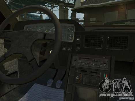 FSO Polonez Atu for GTA 4 inner view
