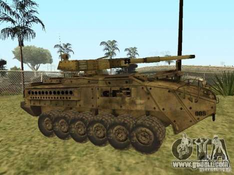 BMTV M1128 MGS for GTA San Andreas left view