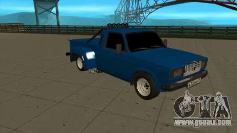 VAZ 2107 Ford for GTA San Andreas