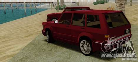 Huntley Freelander for GTA San Andreas left view
