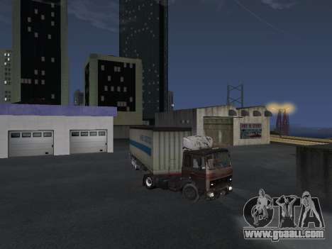Trailer Schmitz for GTA San Andreas right view