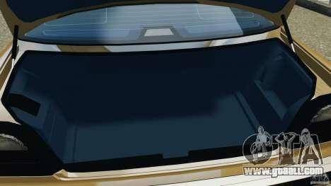 BMW 750iL E38 1998 for GTA 4 bottom view