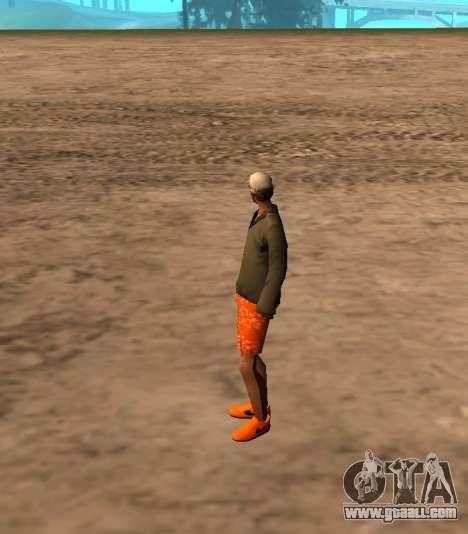 Skin id 212 for GTA San Andreas second screenshot