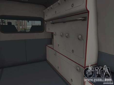 Ford Transit Ambulance for GTA San Andreas inner view