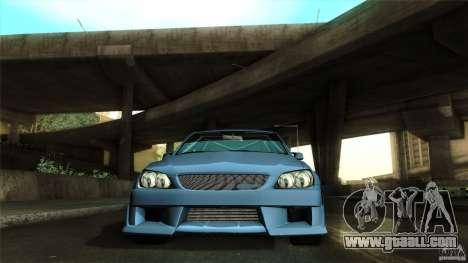 Lexus IS 300 Veilside for GTA San Andreas side view